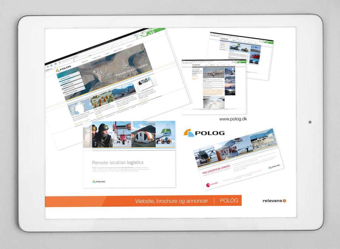 Relevans B2B BYG-kampagne, iPad præsentation