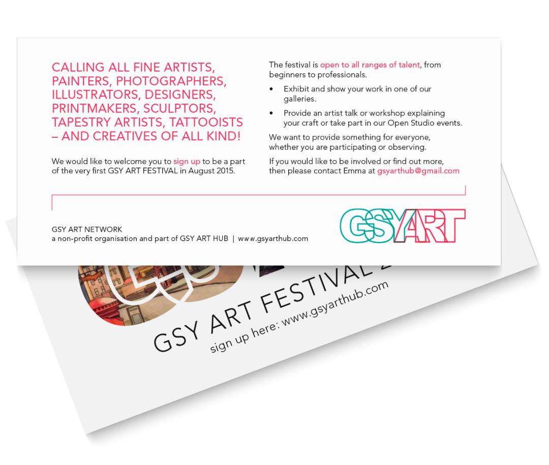 GSYART flyer artist callout
