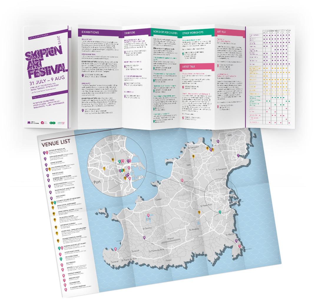 Venue Map Udstillingskort