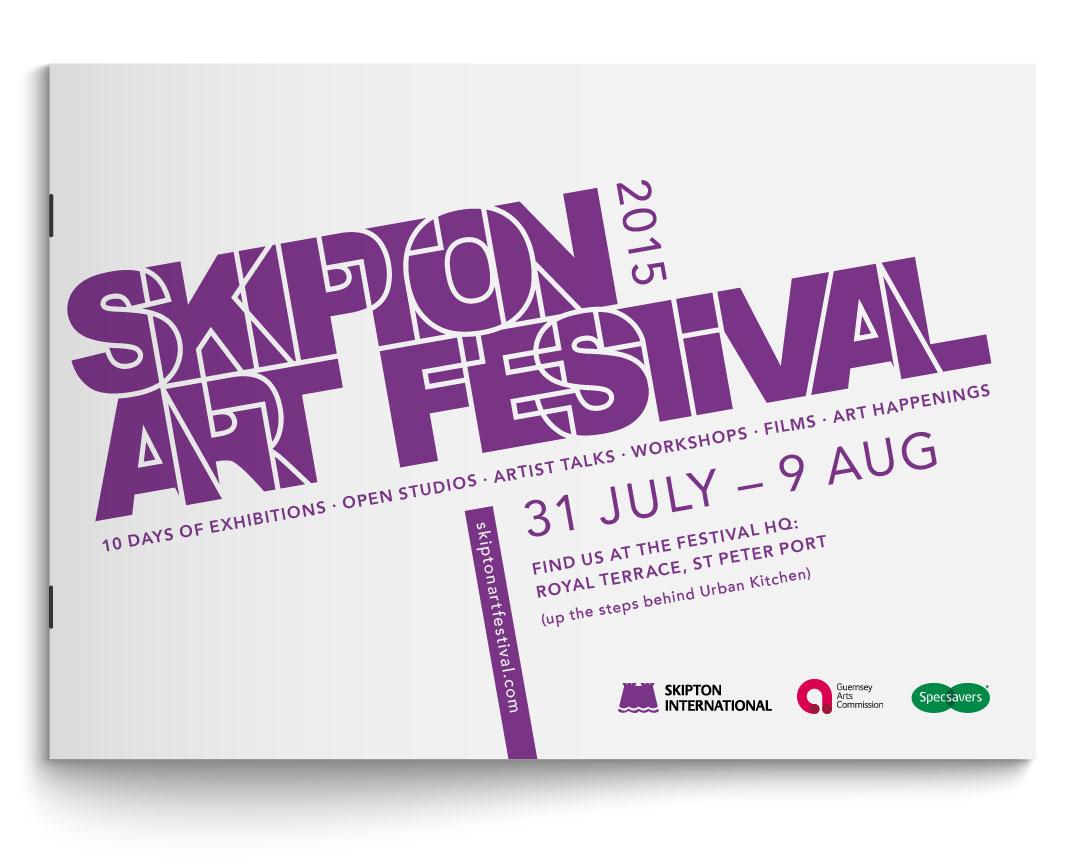 Udstillingskatalog til Skipton Art Festival 2015