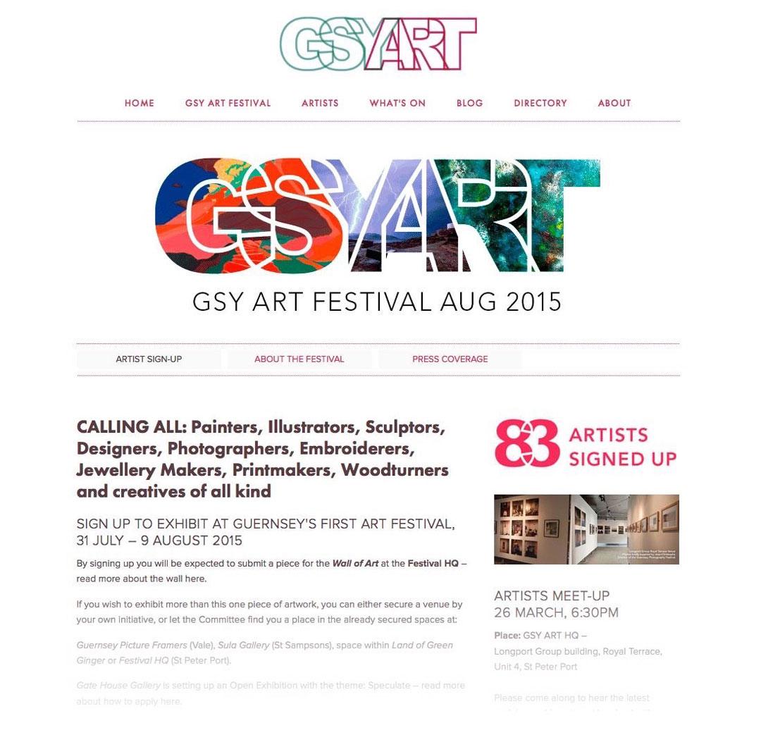 Website Calling all artists